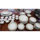 OCCUPIED JAPAN FUJI CHINA SET SERVICE FOR 12