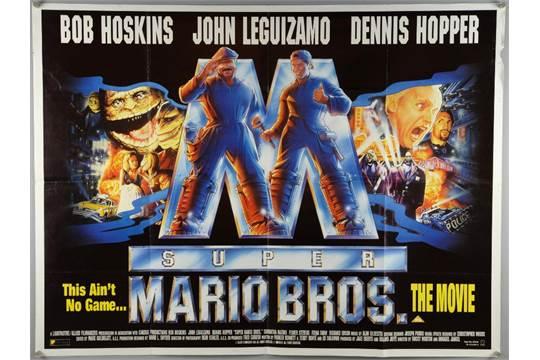 40 British Quad Film Posters Including The Mirror Crack D Super