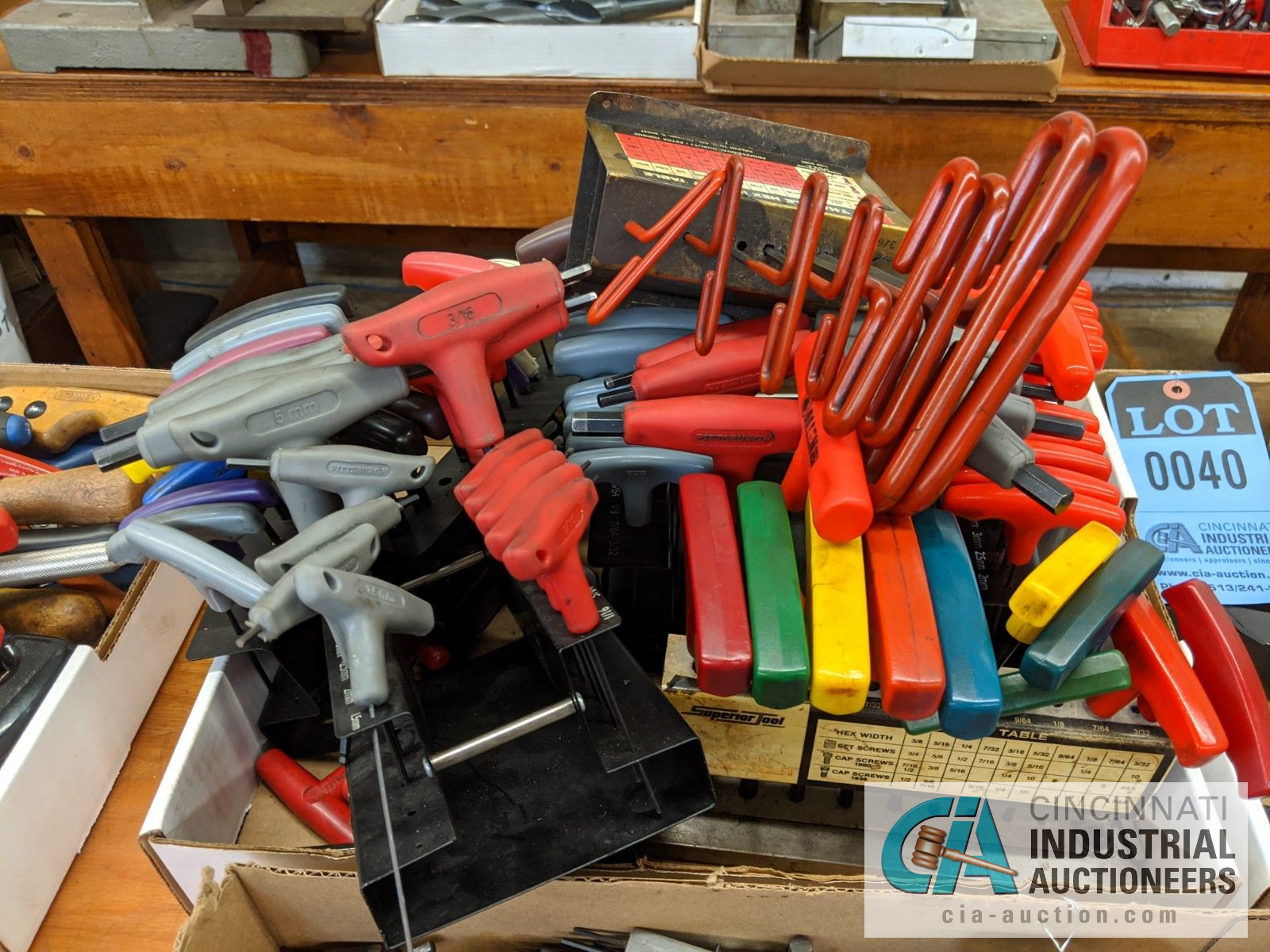 BOXES OF ALLEN WRENCHES AND T-HANDLE HEX WRENCHES - Image 2 of 3