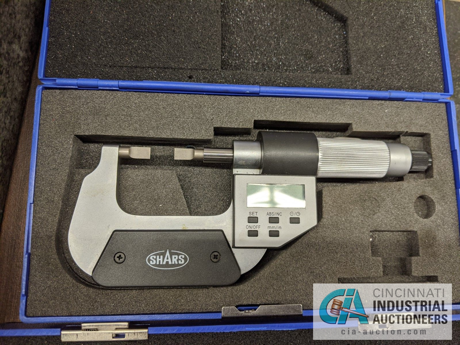 """SHARS DIGITAL OD MICROMETERS, 0-1"""" AND 1-2"""" - Image 3 of 3"""