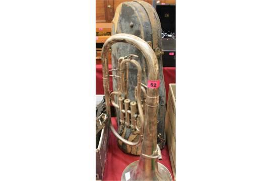 A Weltklang plated tuba