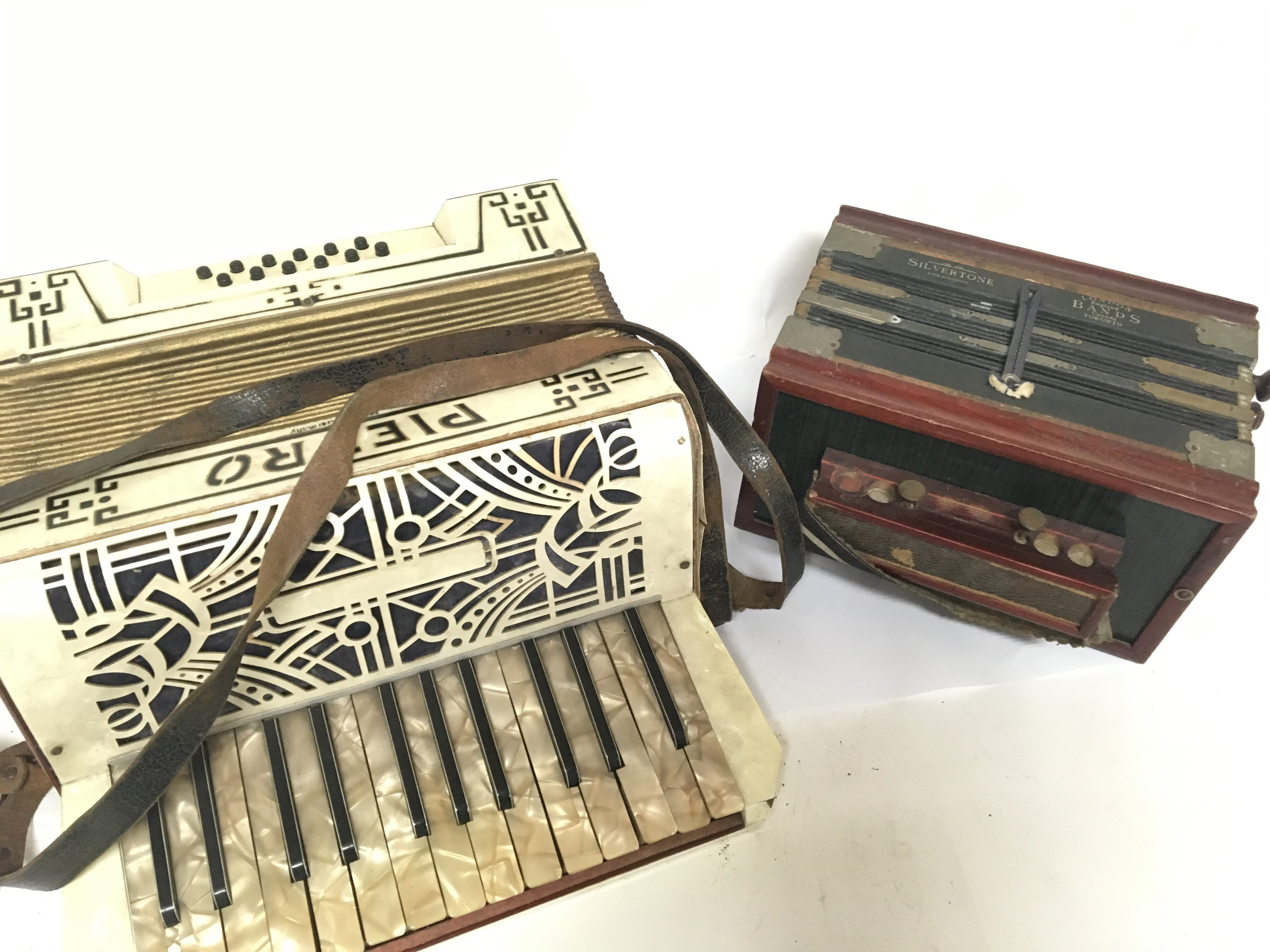 Lot 1897 - A Pietro accordion and one other smaller accordion (2)