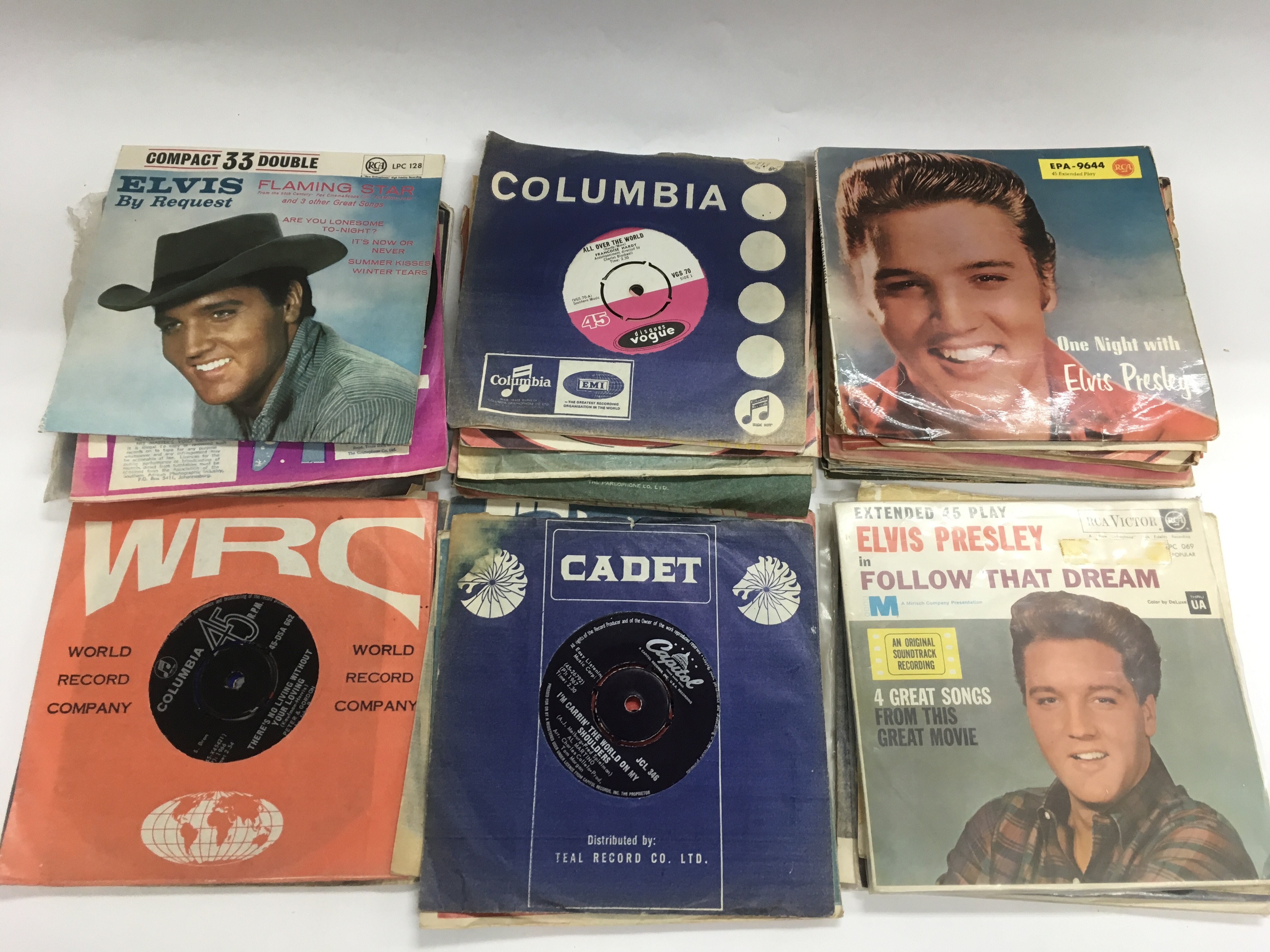Lot 1784 - A collection of 7inch singles and EPs by various a