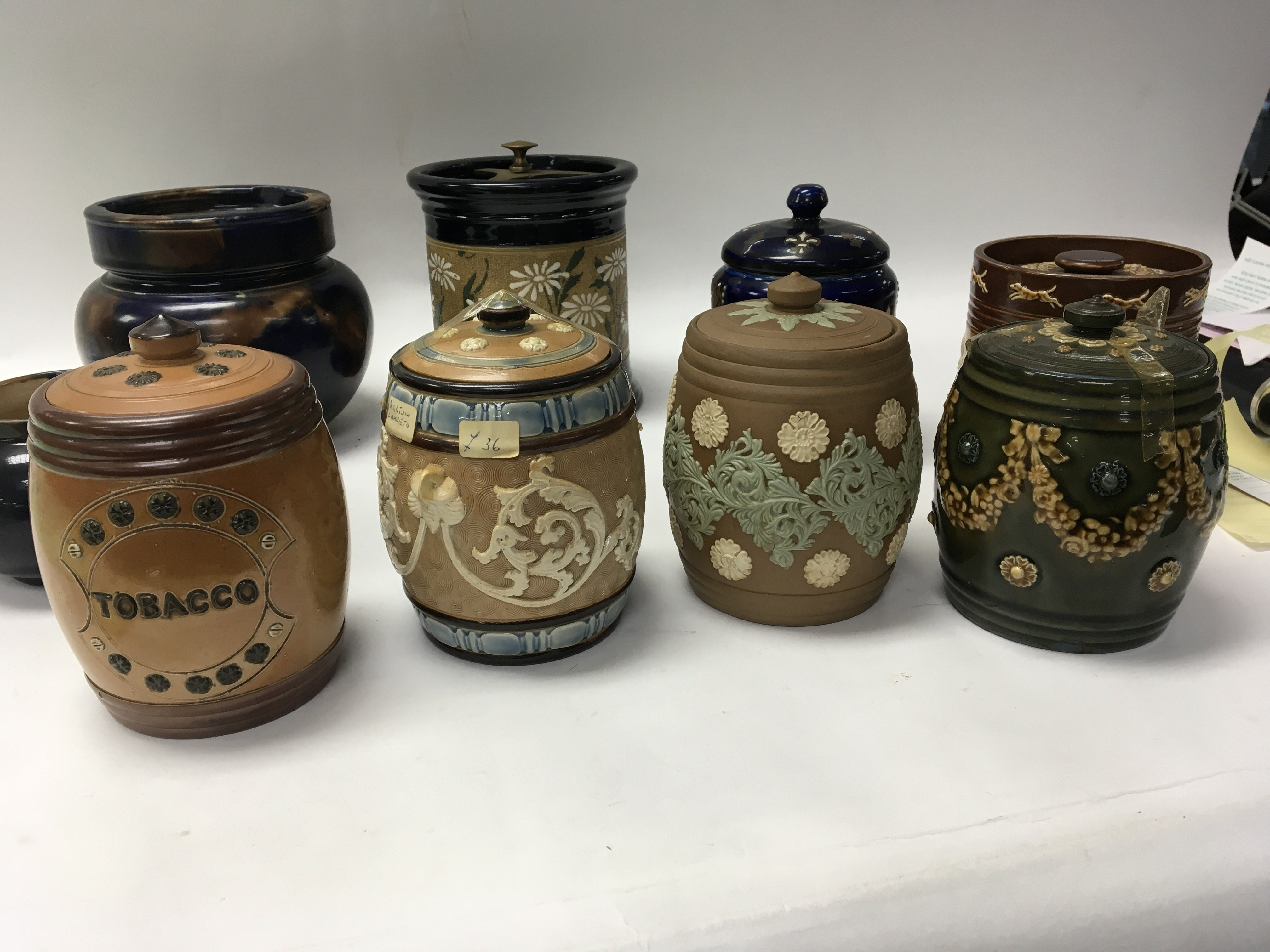A collection of Lambeth Royal Doulton and other st - Image 2 of 2