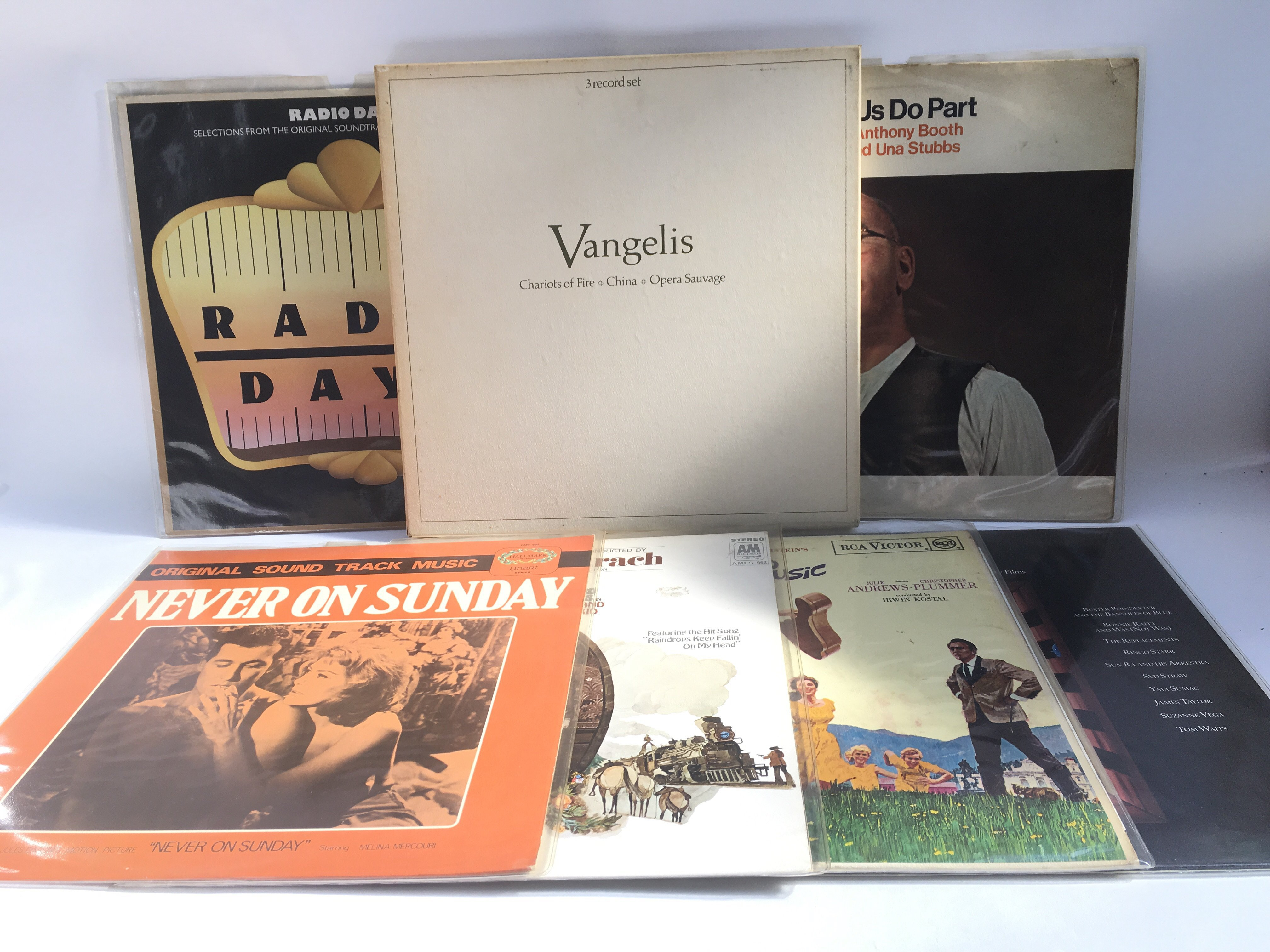 Lot 1316 - A collection of film, television and music related