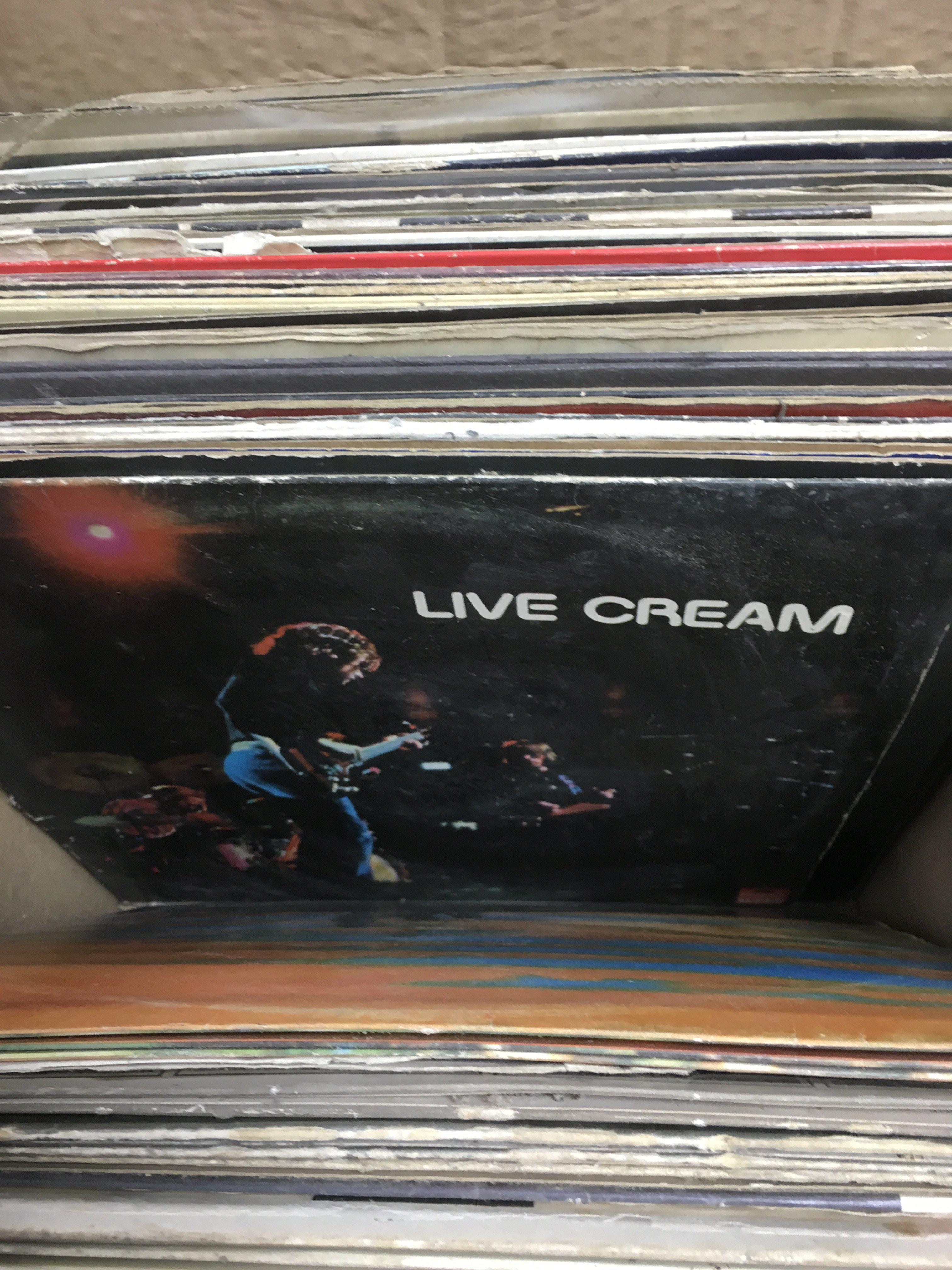 Lot 1854 - A collection of LPs and 7inch singles by various artists including Pink Floyd, Canned Heat and