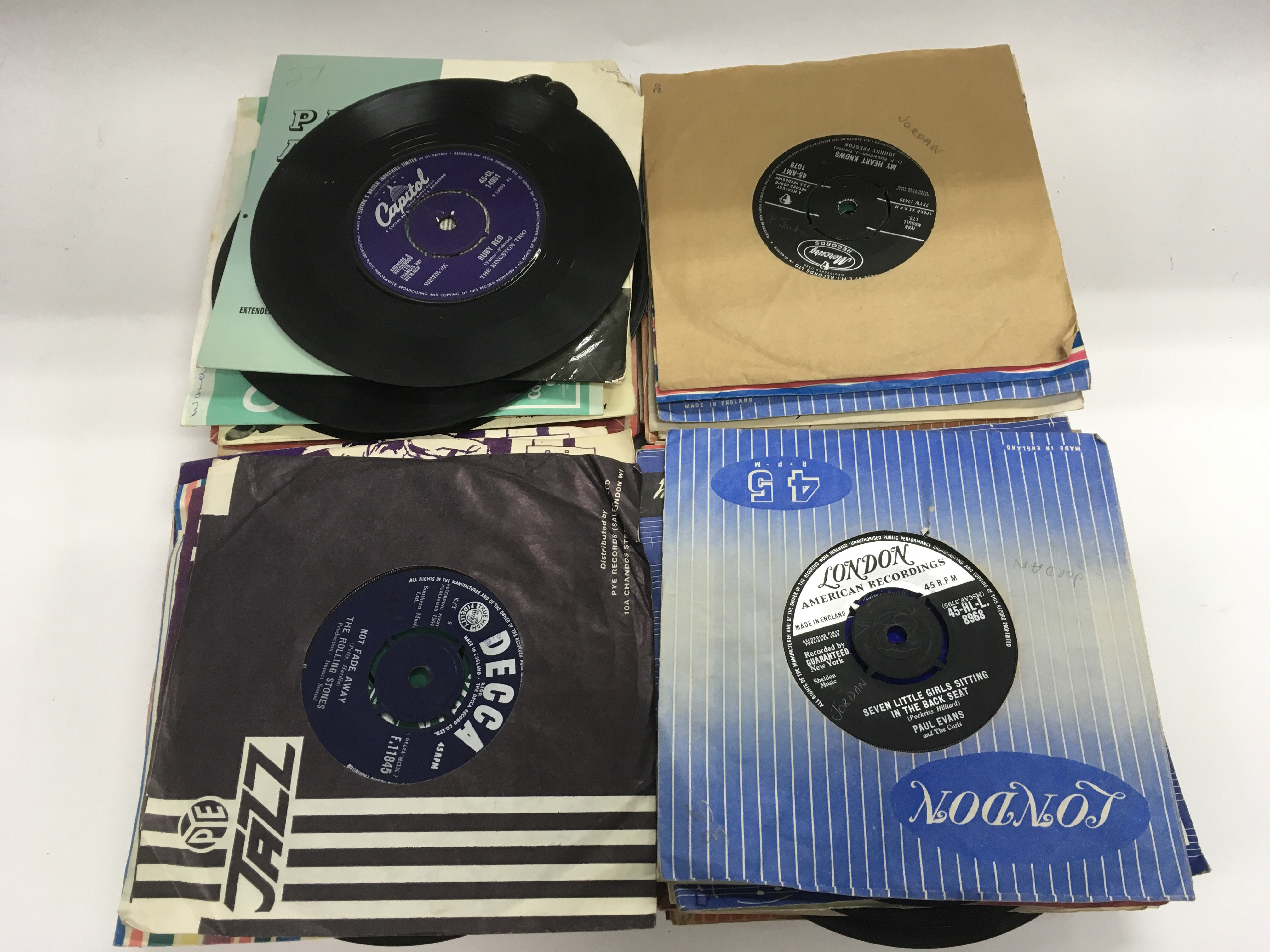Lot 1782 - A collection of 7inch singles and EPs from the 195