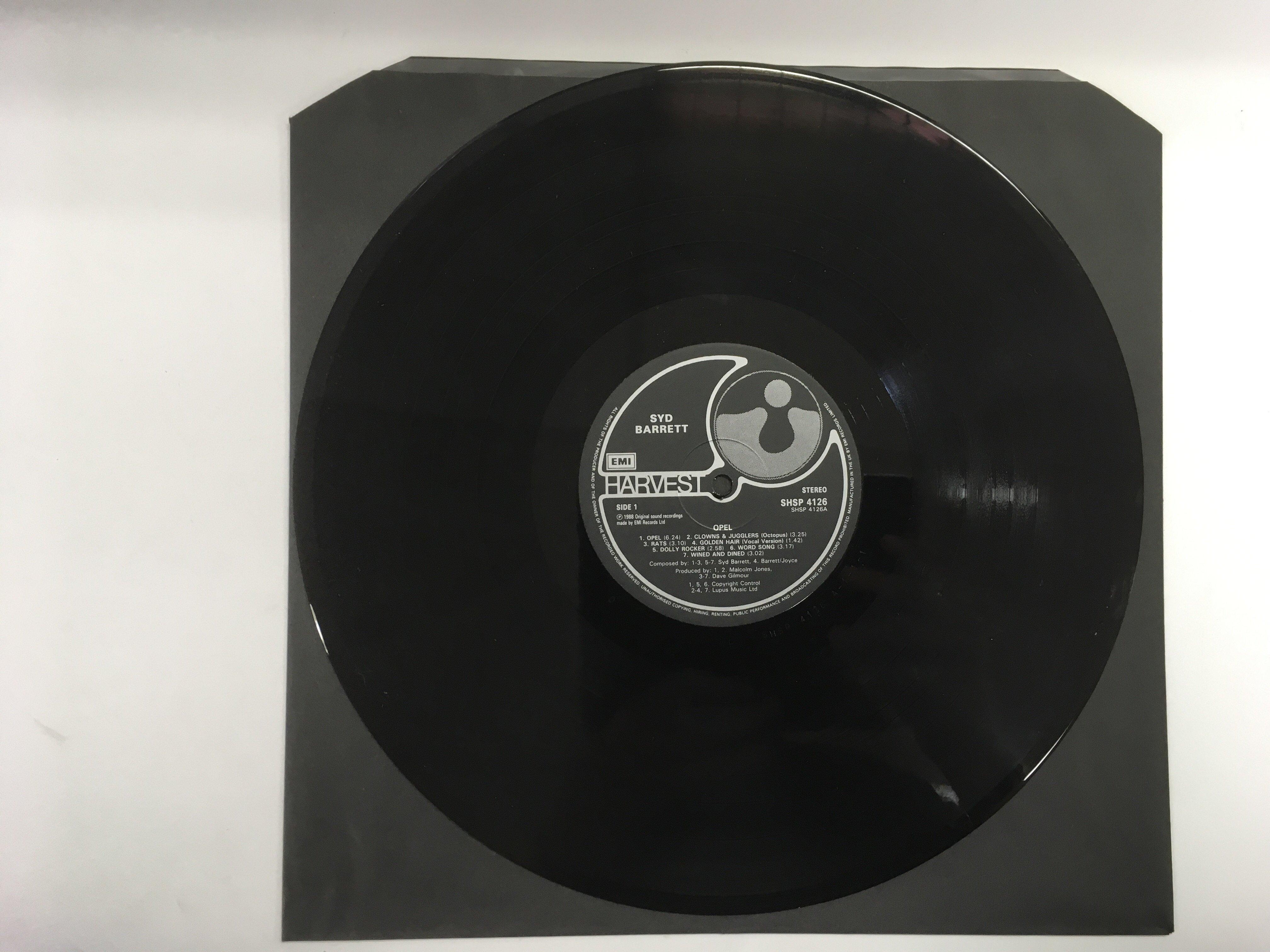 Lot 1761 - A near mint 1988 issue of the Syd Barrett 'Opel' L