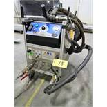 2013 COLD JET AERO V DRY ICE PORTABLE BLASTING MACHINE MOUNTED ON CASTORS, (24) HOURS, S/N AERO-