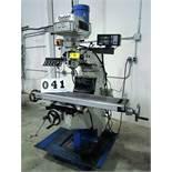 DARBERT MICROCUT 2V VERTICAL MILLING MACHINE, 3HP, FAGOR 2-AXIS DRO, S/N 971102