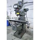 FREJOTH 1050KV Vertical Milling Machine, Power Feed, Fagor 2-Axis DRO, s/n 1479