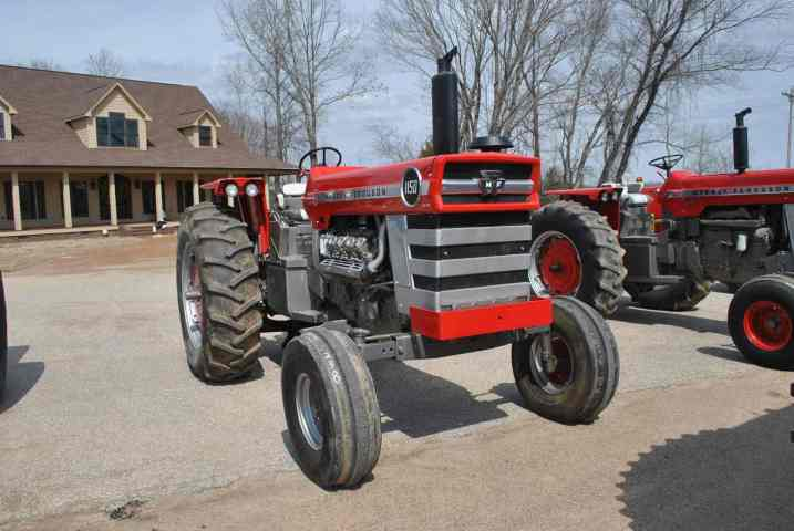 massey ferguson 1150 tractor w 8 cylinder diesel w 3 point hitch w rh bidspotter com
