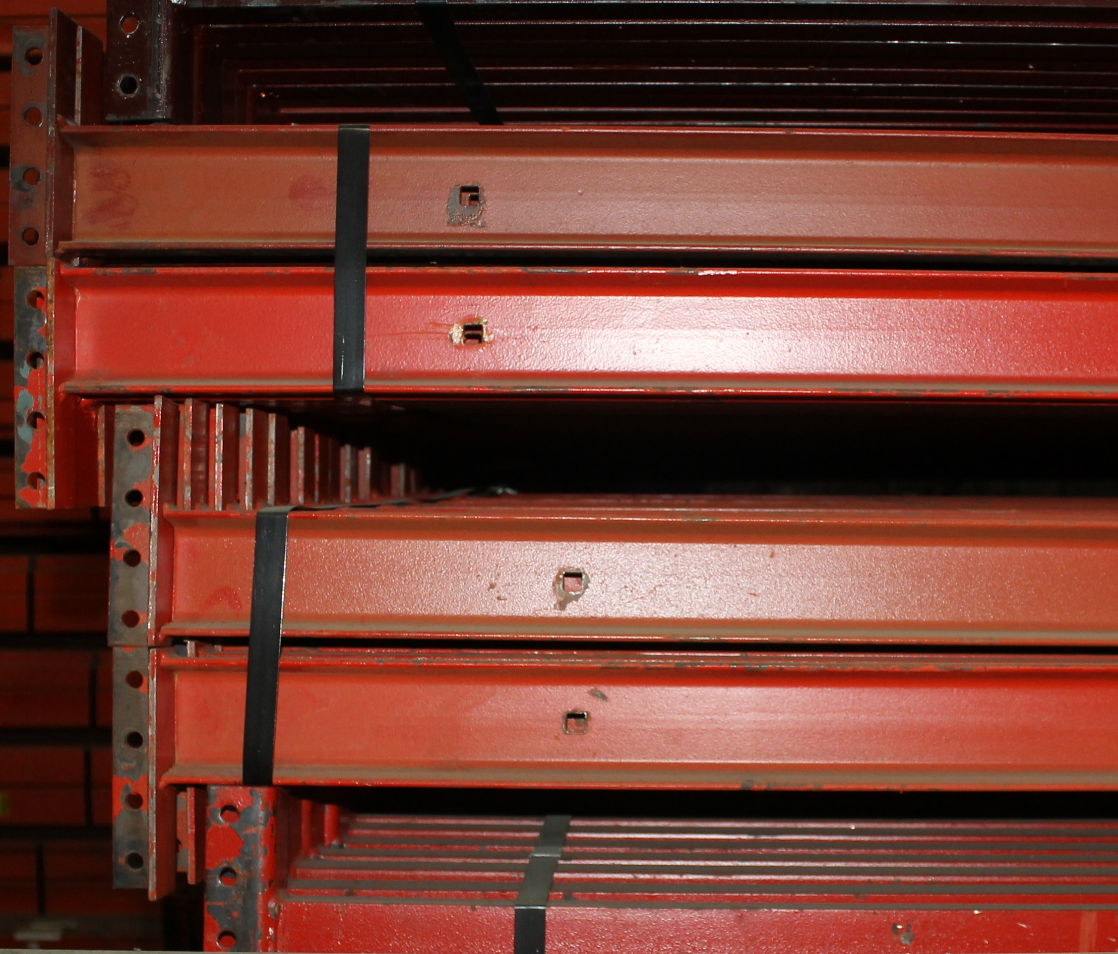 "14 BAYS OF 126""H X 42""D X 102""L STRUCTURAL PALLET RACKS - Image 3 of 4"