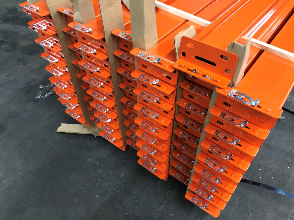 "NEW 60 PCS OF 96"" X 4.5"" TEARDROP BEAM- 5100 LBS CAPACITY/PAIR - Image 3 of 4"