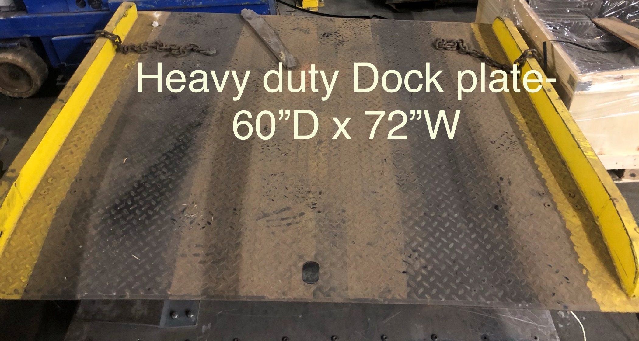 1 PCS OF USED HEAVY DUTY DOCK PLATE