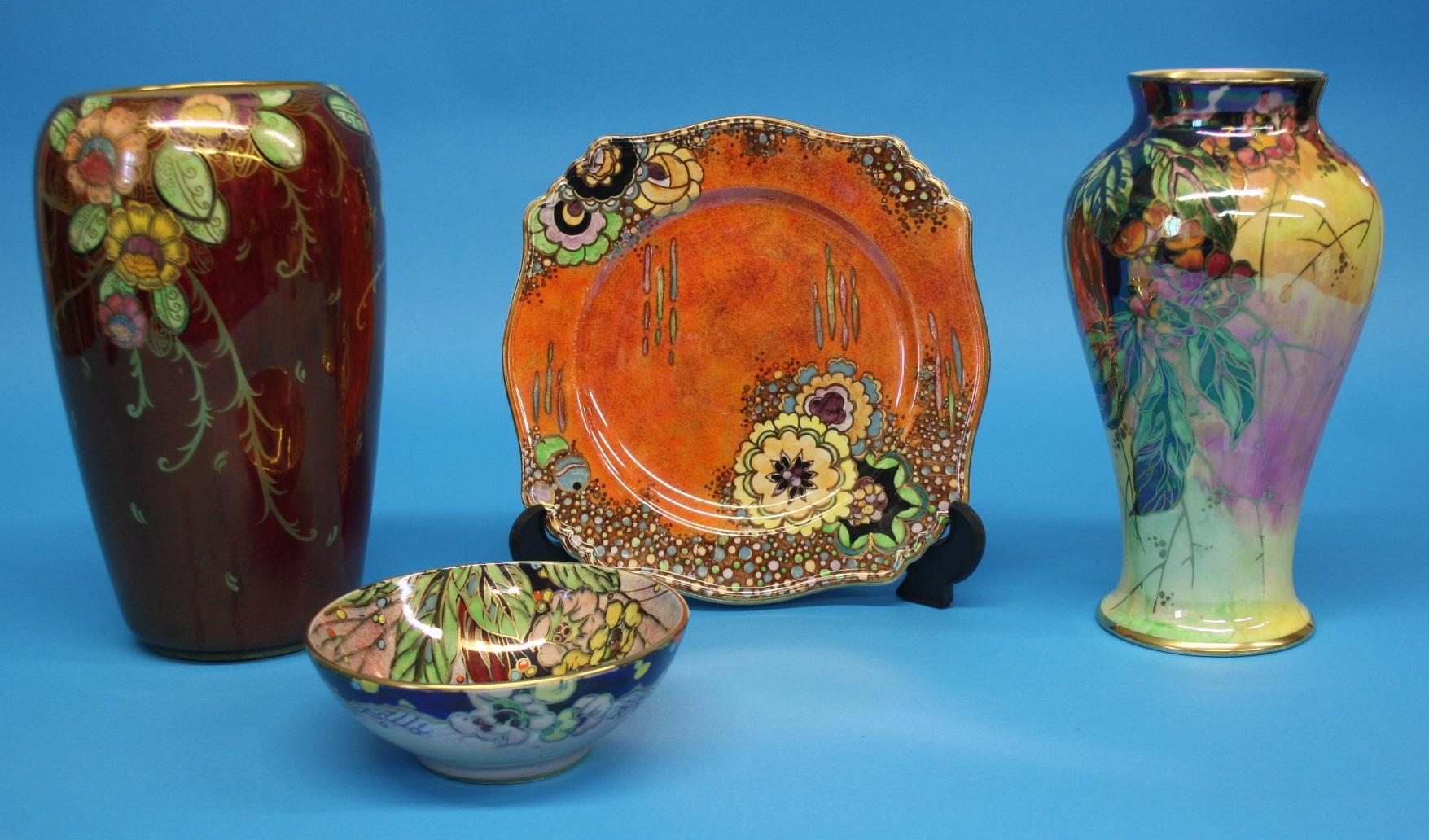 A royal winton grimwades plate a shallow circular bowl and two lot 15 a royal winton grimwades plate a shallow circular bowl and two royal reviewsmspy