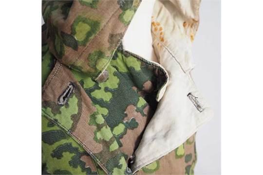 weiße tarn jacke camouflage