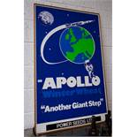 APOLLO POWER SEEDS SIGN ON BOARD 78 X 125CM