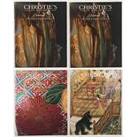 Property of a gentleman - four Christie's auction catalogues relating to Japanese Satsuma (4) (