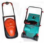 Property of a deceased estate - a Flymo Easi Glide 300 lawnmower; together with a Bosch ALR 900 lawn