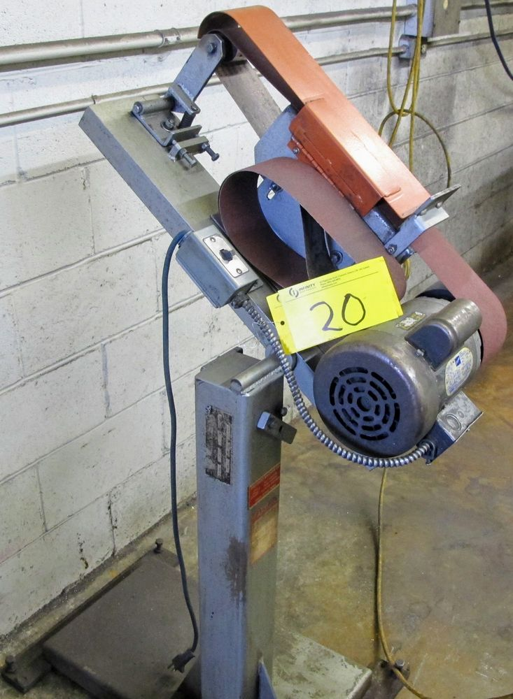 "DOERR 1 HP 4"" BELT SANDER"