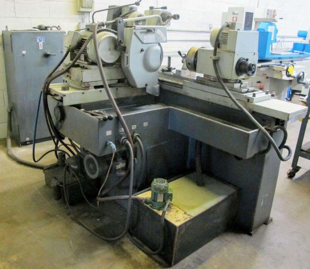 """TOS BU28-630 CYLINDRICAL GRINDER, 11"""" X 24"""", S/N 578016 W/8"""" MAGNETIC CHUCK, TAIL STOCK, TOOL - Image 6 of 6"""