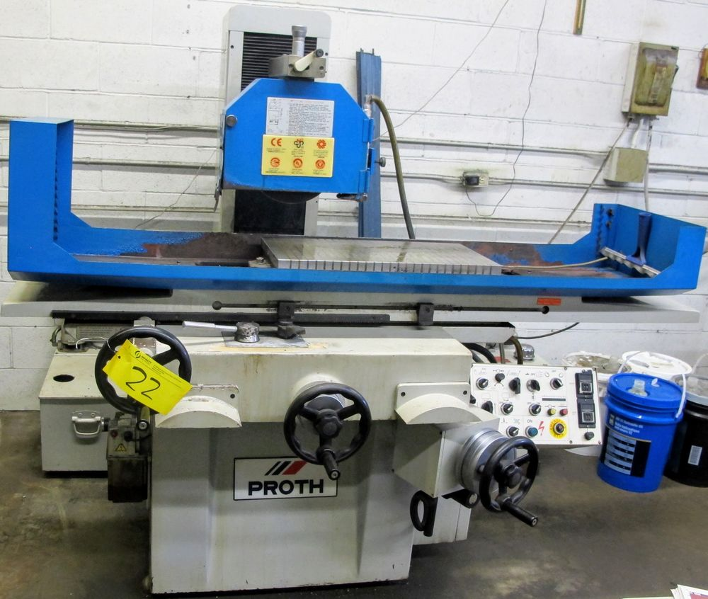 """PROTH PSGS-3060AH SURFACE GRINDER, S/N 71207-11, 24"""" X 12"""" ELECTROMAGNETIC CHUCK, FULLY AUTOMATIC,"""