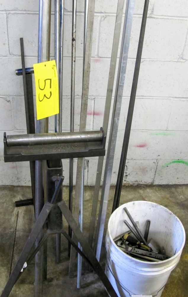 METAL STOCK AND ROLLER STAND
