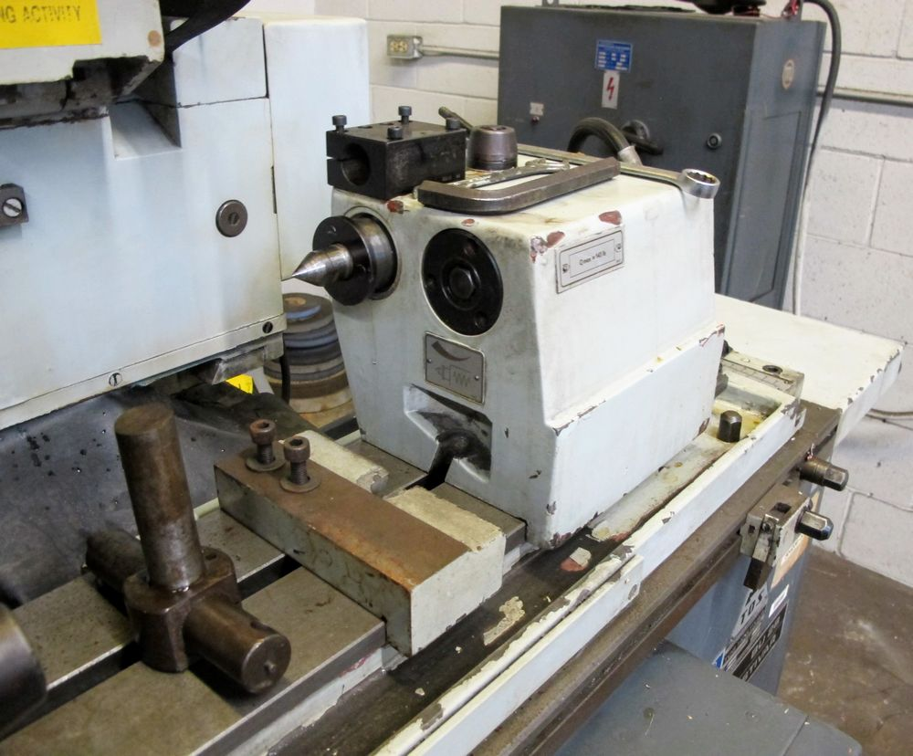 """TOS BU28-630 CYLINDRICAL GRINDER, 11"""" X 24"""", S/N 578016 W/8"""" MAGNETIC CHUCK, TAIL STOCK, TOOL - Image 5 of 6"""