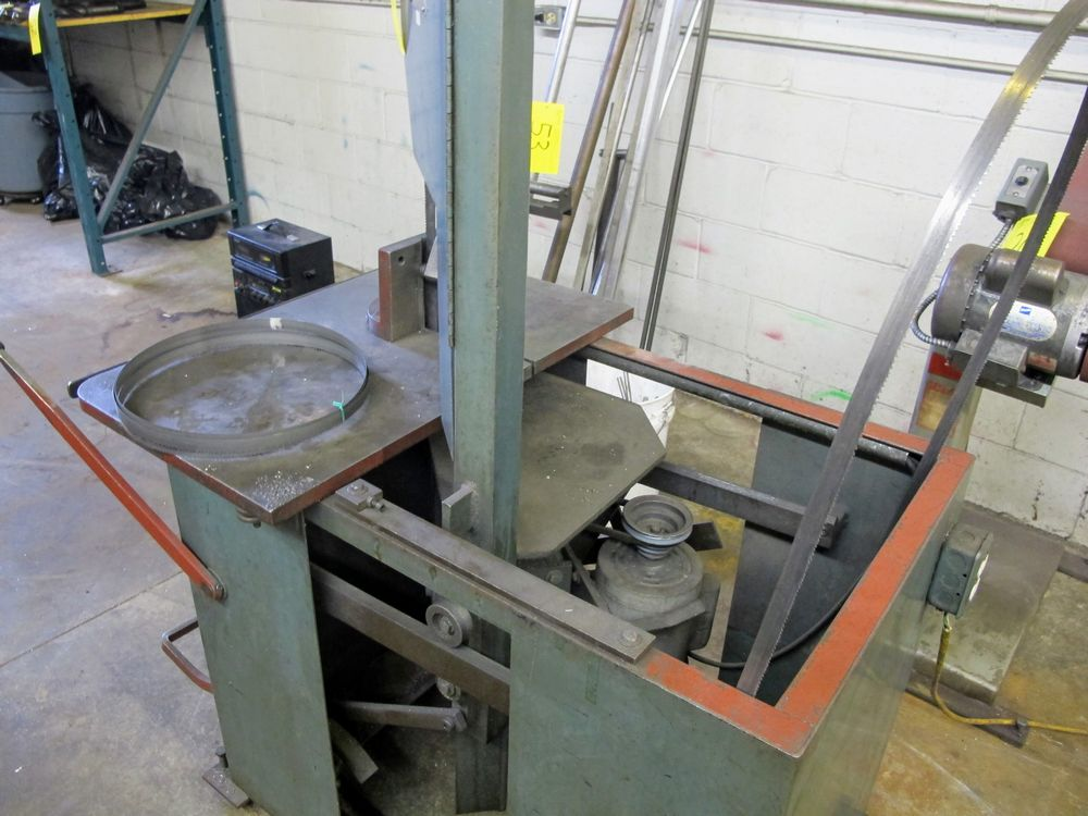 KARMAN KM1012 ROLL-IN BAND SAW, S/N 22288 W/EXTRA BLADES - Image 2 of 3