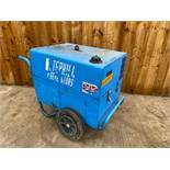 Stephill 6KVA Silent diesel generator Starts first time runs & outputs power 110/240V 6KVA *plus vat