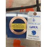 Copper Target 99.9% Pure For Electron Microscopy Sciences (Used w/Sputter)