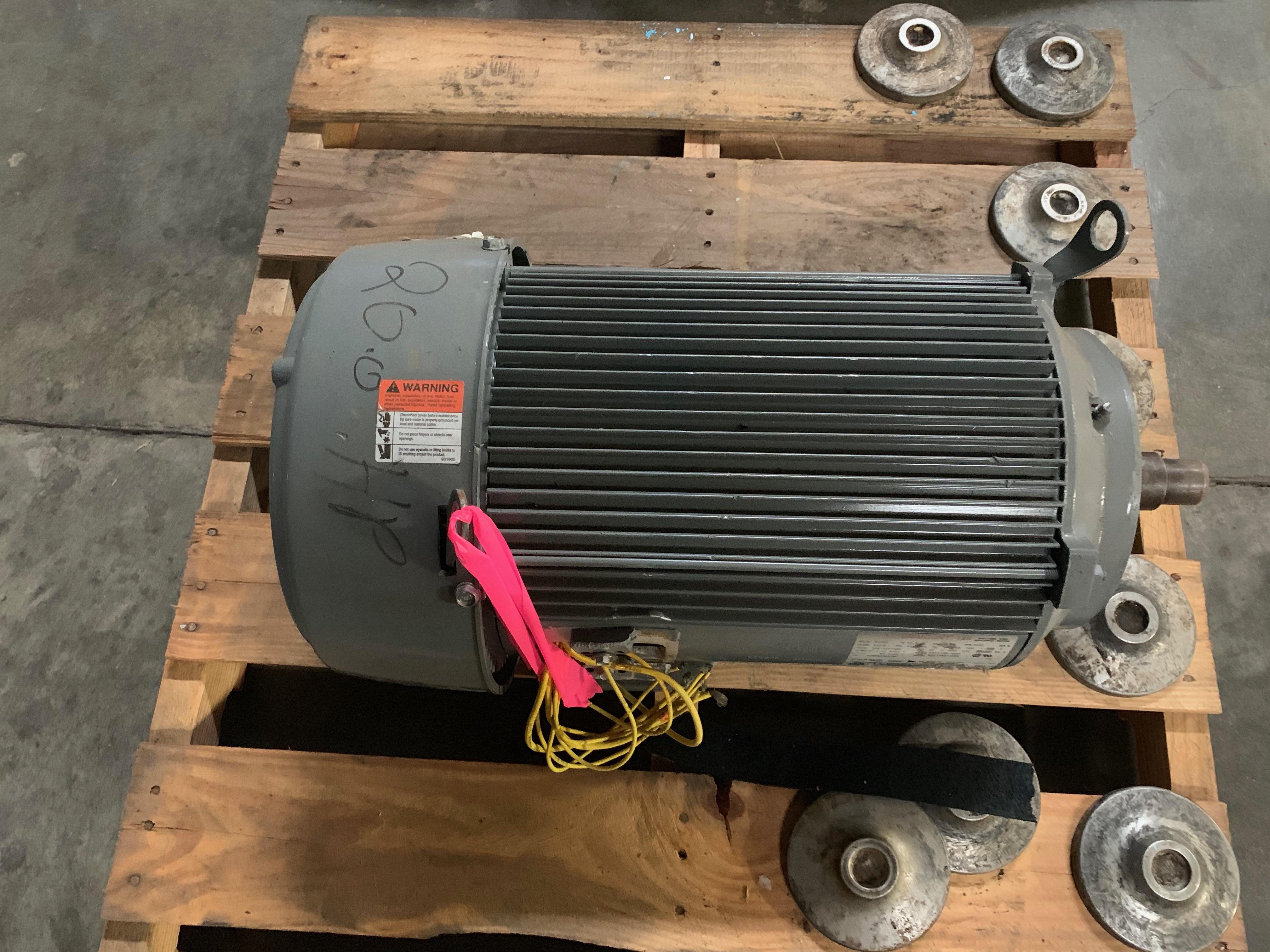 Lot 9 - US MOTOR 20HP MOTORModel B048AFrame 256JRPM 3525