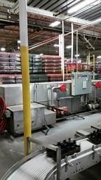 Lot 29 - Convay Systems Dual Lane Tray WasherConvay Systems Stainless Steel Duall Lane Tray Washer, 53.7Hp
