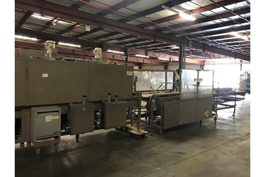 Lot 21 - Douglas SR7 Shrink Wrapper, Year 2000Setup for Clear or Printed FilmAsset Number 1321Manufacturer