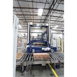 2002 Krones Kettner Low Level PalletizerAuto Pallet Index Feeder, Auto Take Off Conveyor Feed, Allen