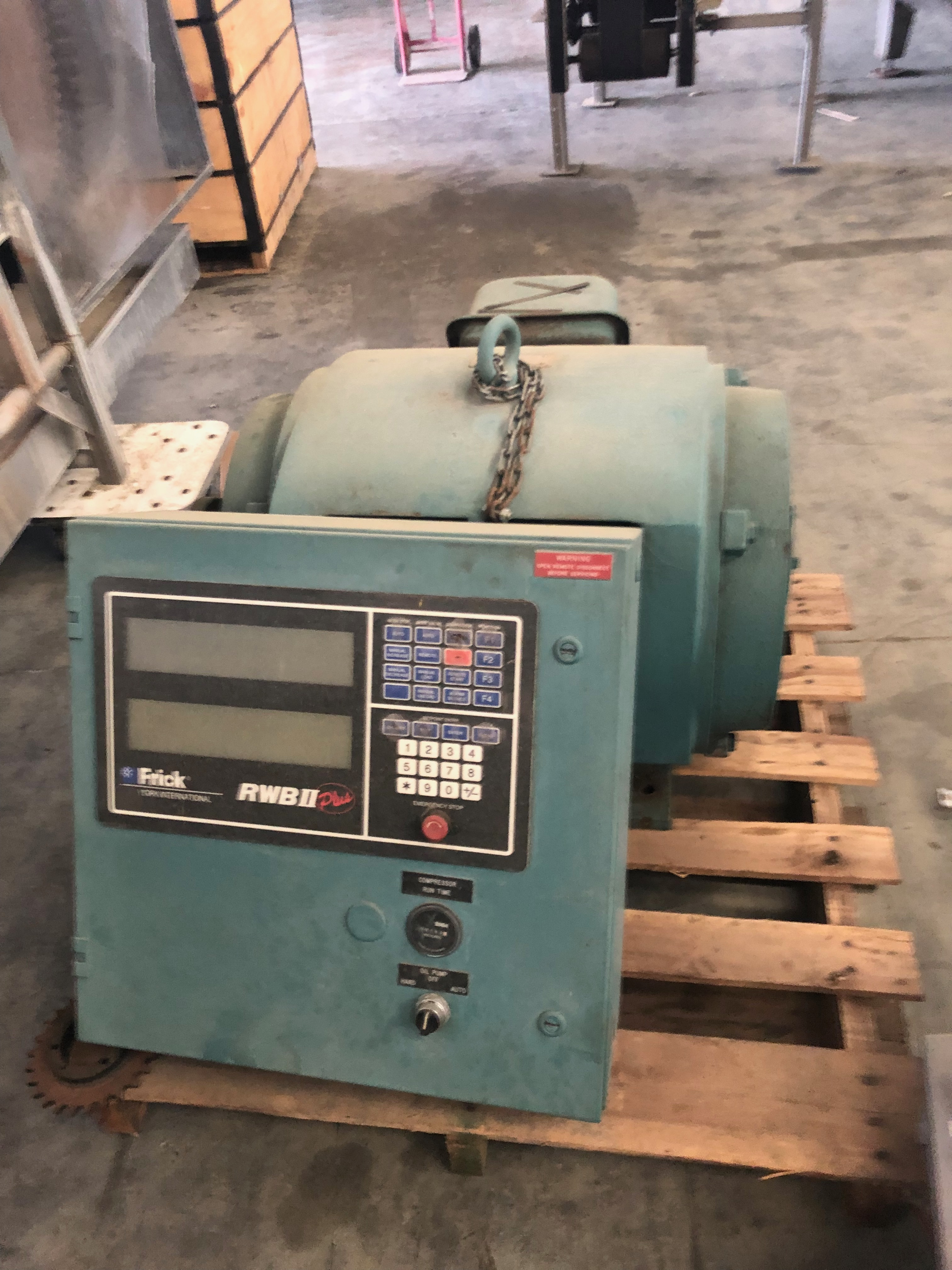 Lot 10A - 250HP230/460V 60hz 3ph 570/285A3565 RPM