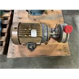 Tri Clover 15HP Centrifugal PumpModel CL4378MDG -254/256TCSN 465575-014in inlet 2in outlet