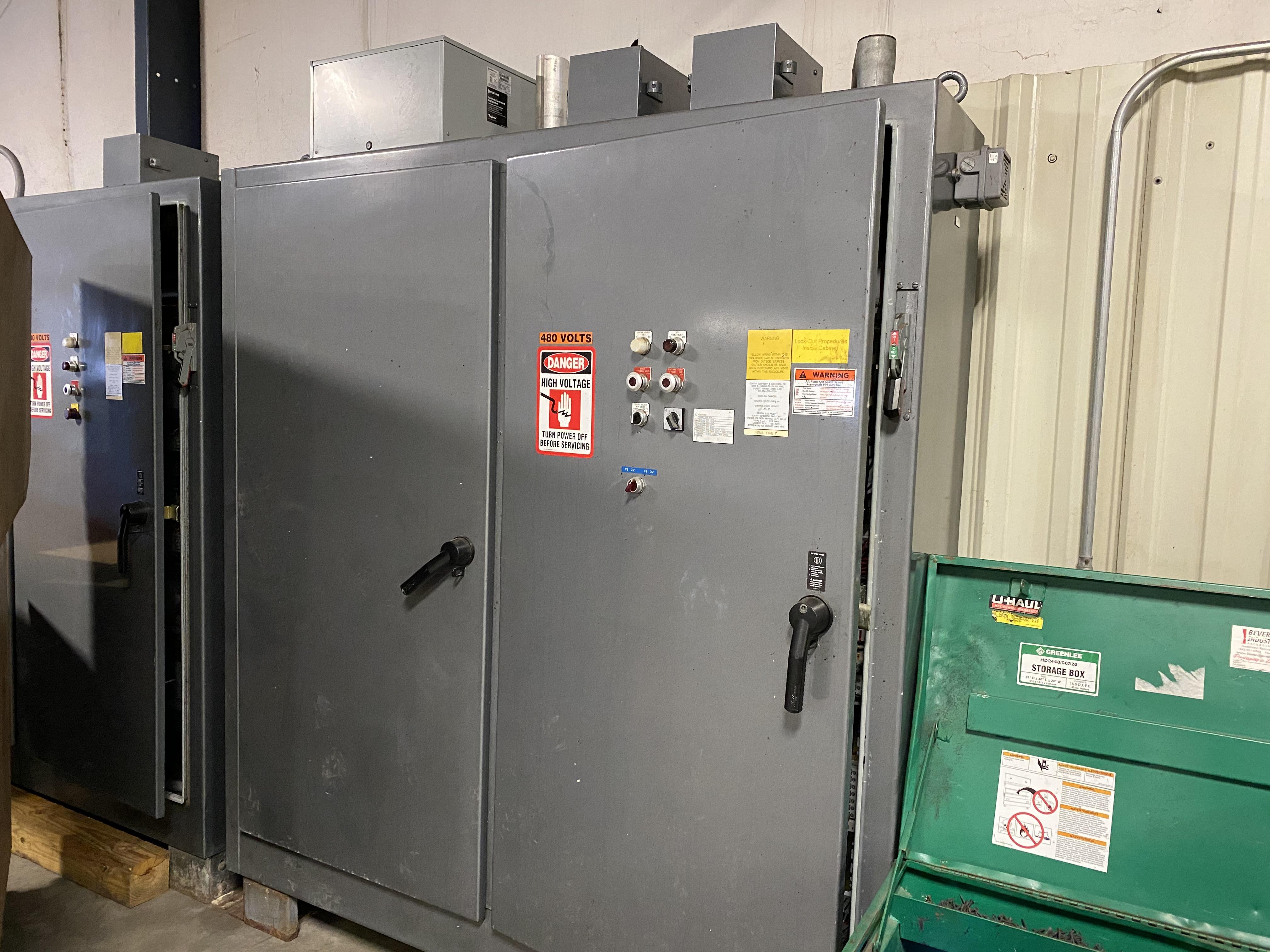 Lot 26A - 2 Door Case Conveyor Control Panel