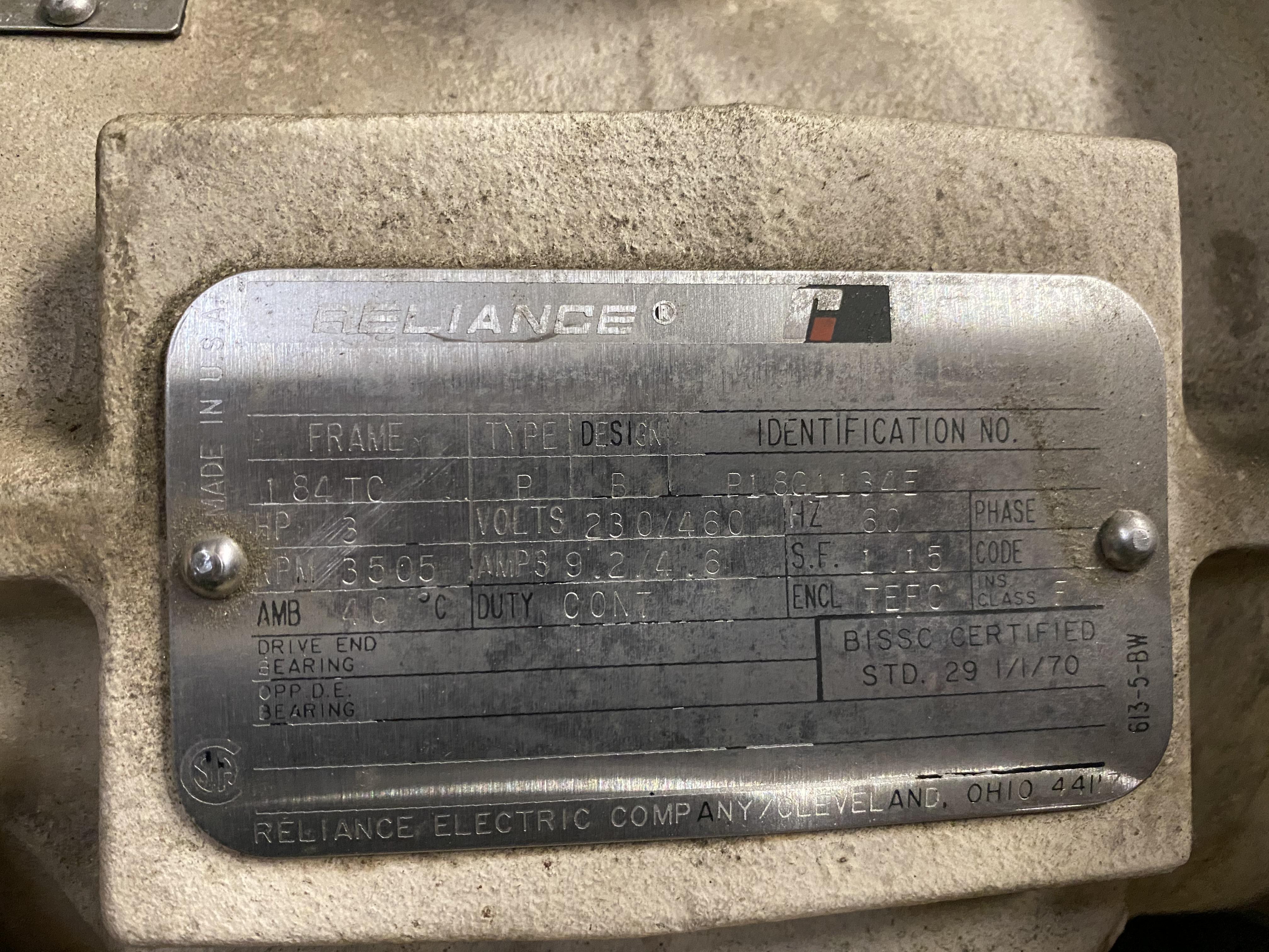 Lot 17 - Simplimatic 3HP Blower