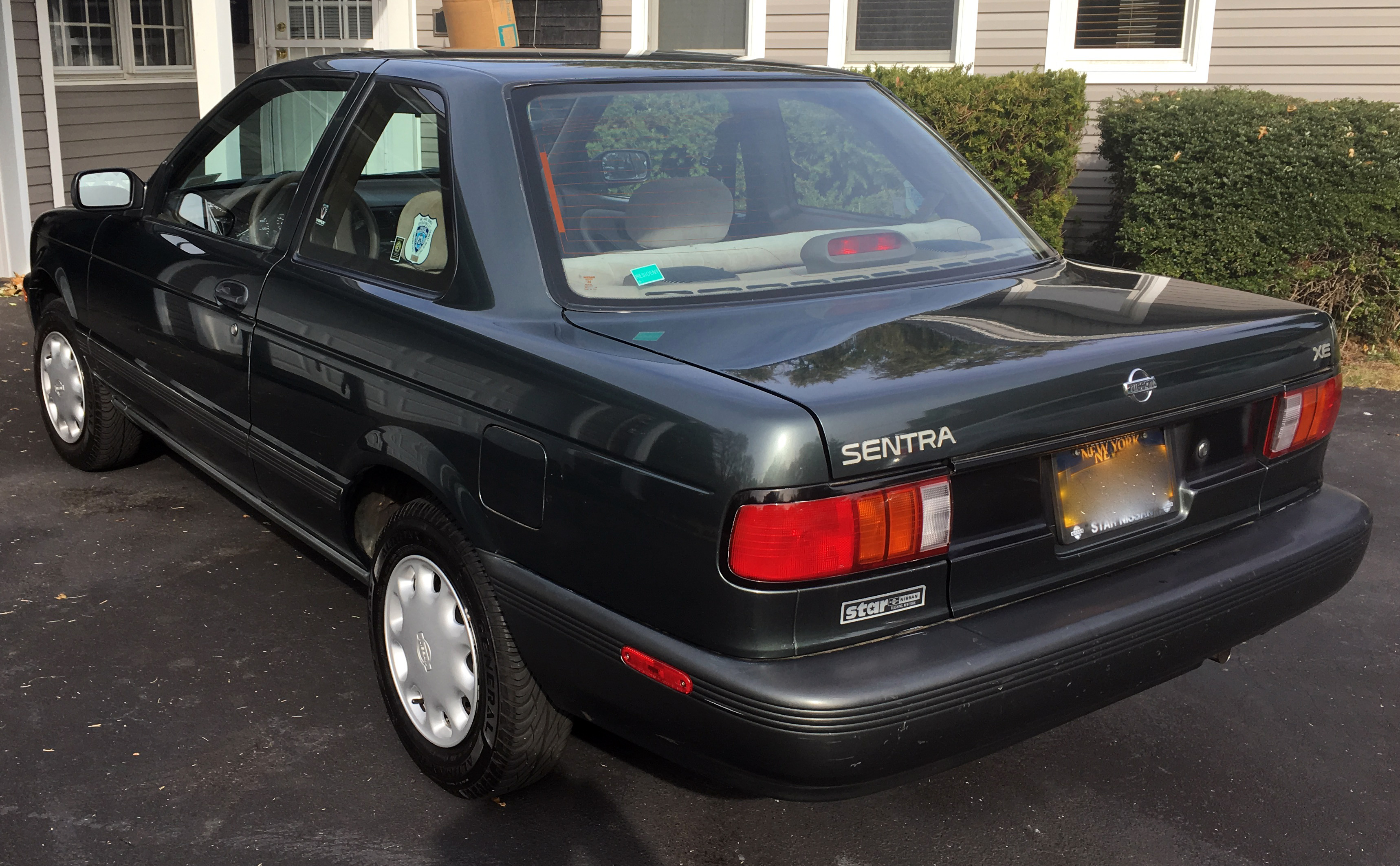 Lot 3 - 1993 NISSAN SENTRA XE, 2-DOOR SEDAN