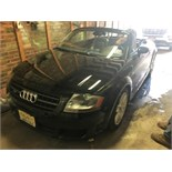 Lot 2 - 2004 AUDI TT CONVERTIBLE, V6 3.2 LITHE, BLACK, APPROXIMATELY 39,000 MILES, VIN# TRUUF28N541023356 [