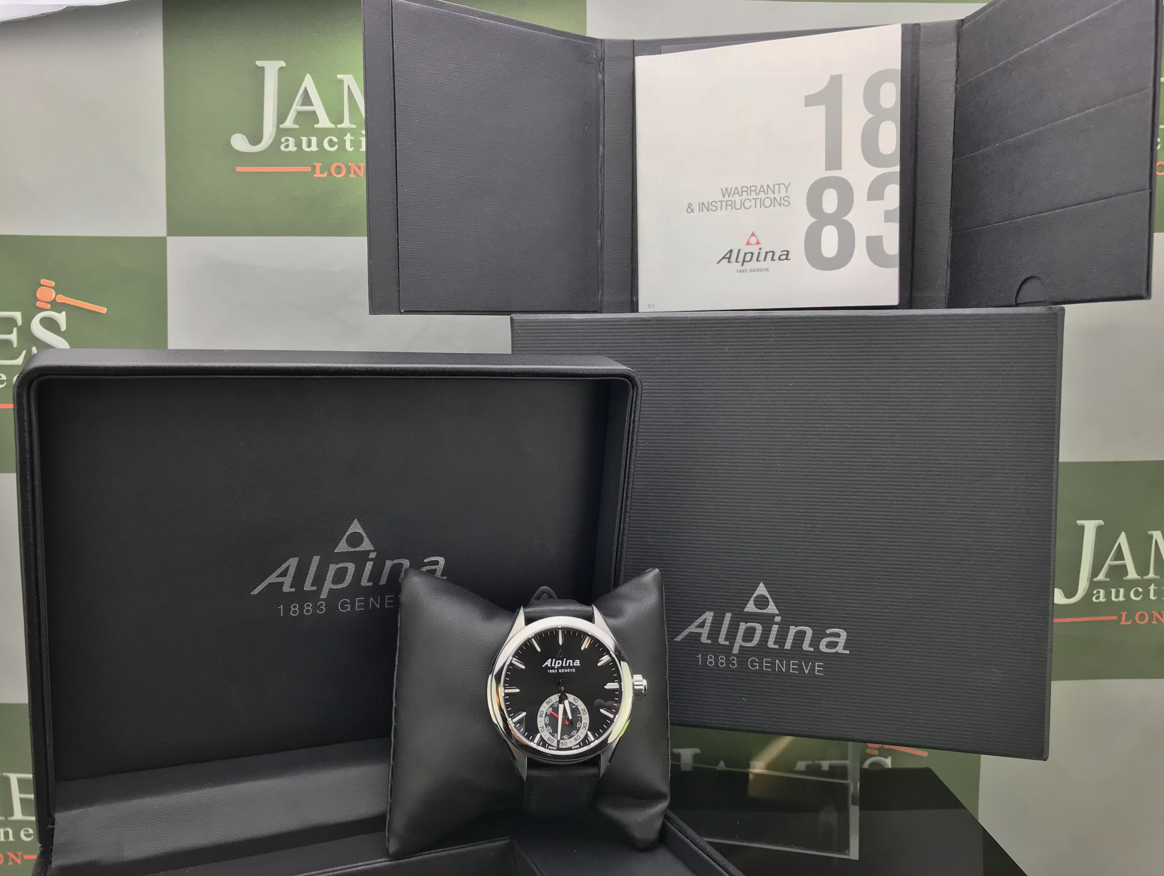 Lot 39 - Alpina Horological Smartwatch, Reference AL285X5AQ6.