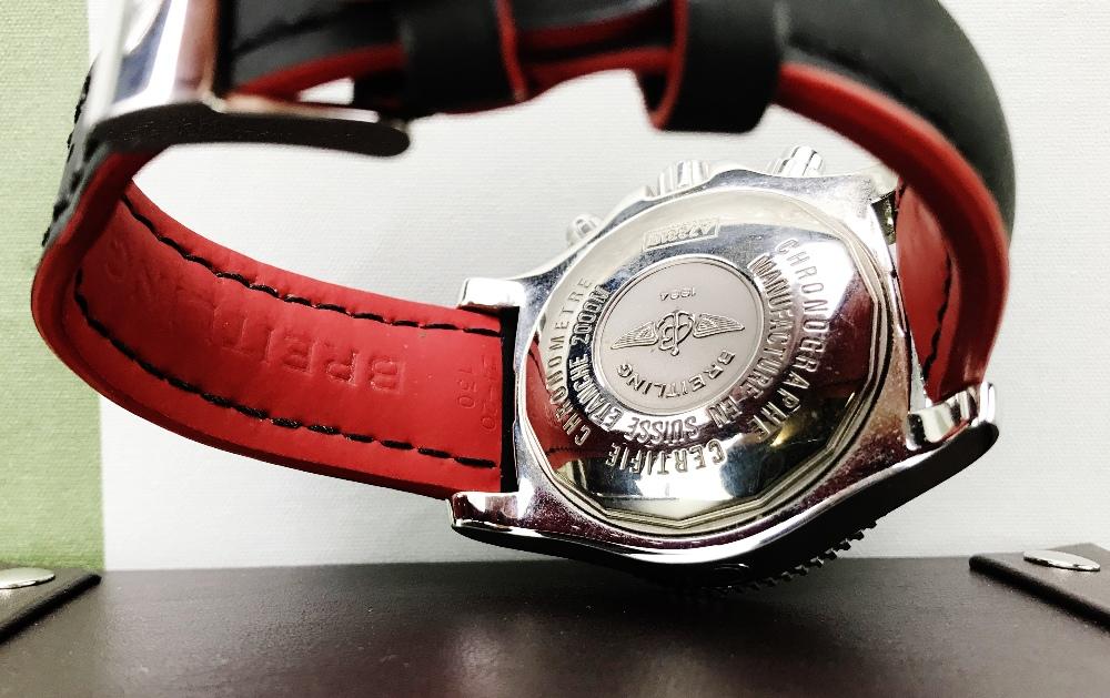 Lot 5 - Brietling Superocean Chronograph, Ref A73310