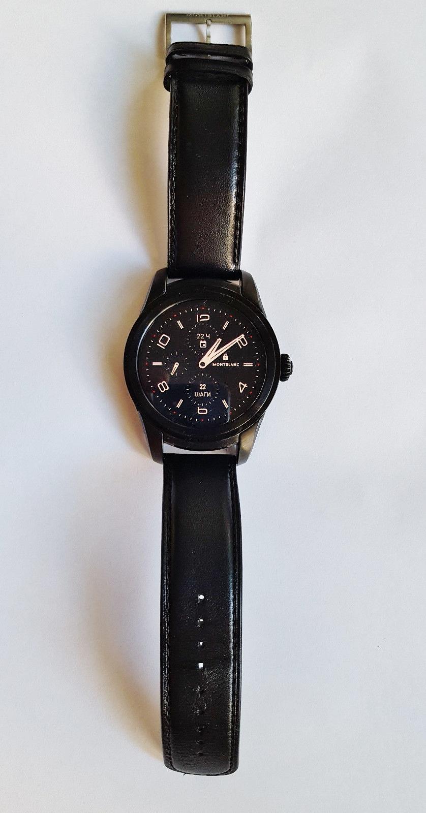 Lot 28 - Montblanc Summit Smart Watch