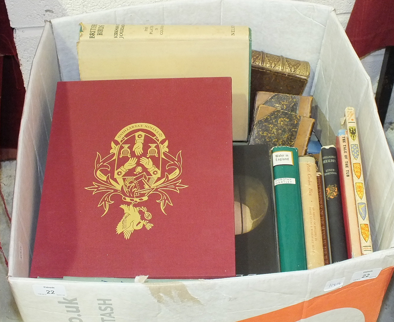 Lot 22 - A collection of various books.