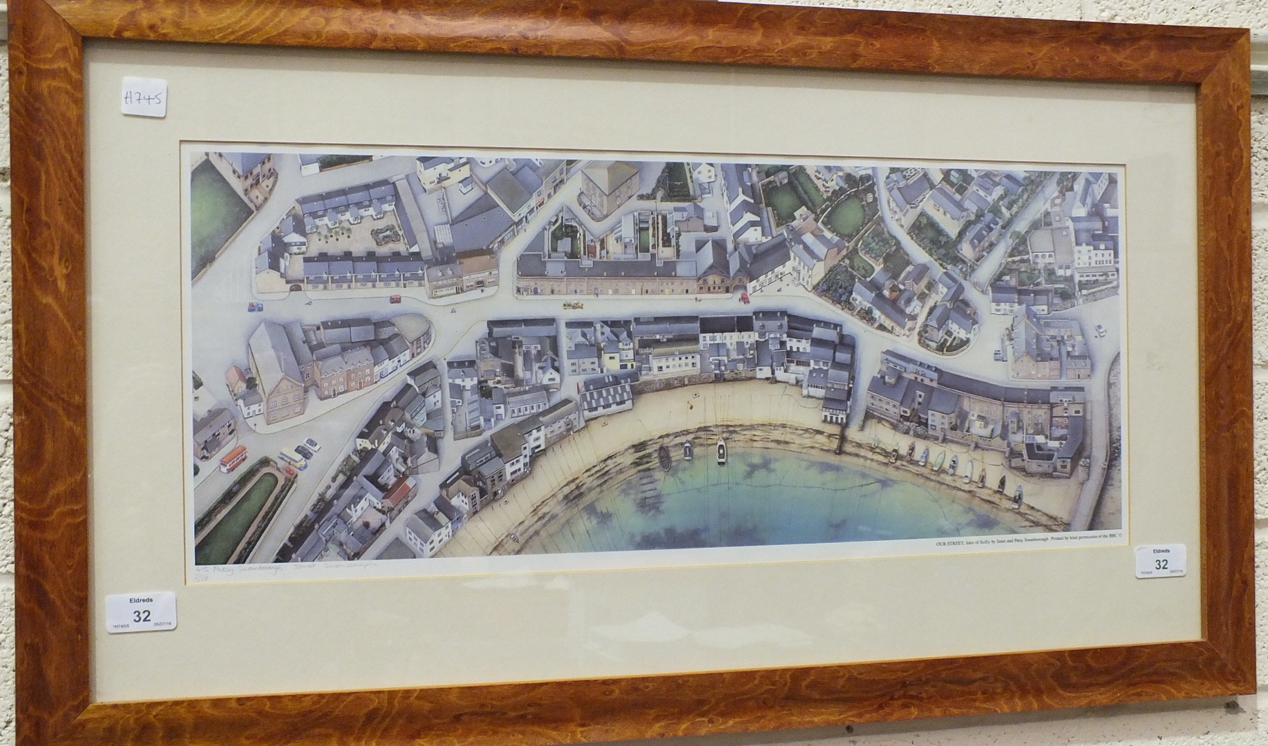 Lot 32 - After Janet and Patsy Swanborough, 'Our Street, Isles of Scilly', a signed limited edition
