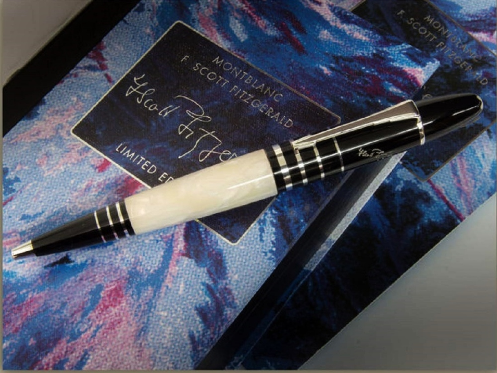 Lot 141 - Montblanc Limited Edition F.Scott Fitzgerald Ballpoint Pen.