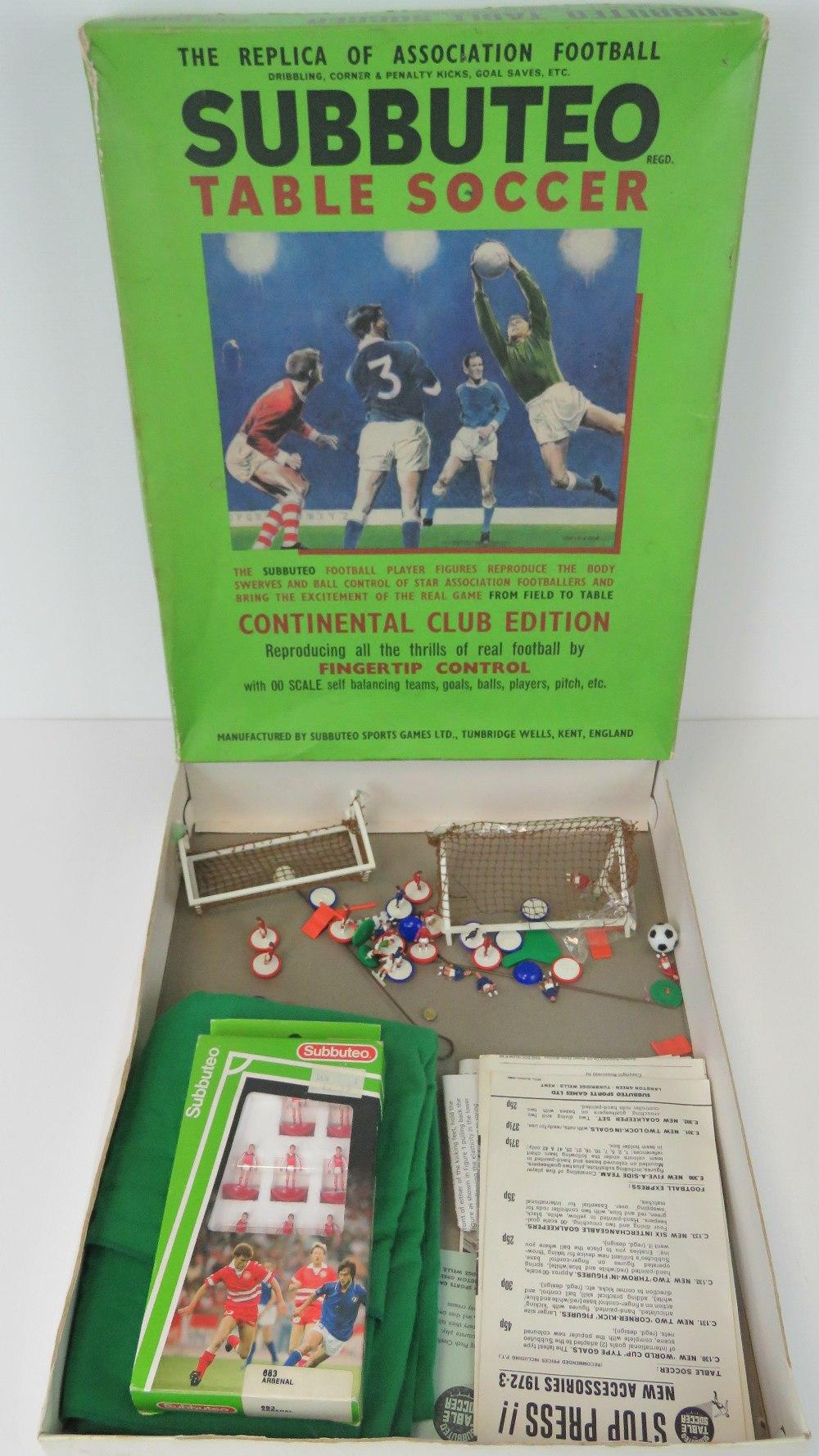 Lot 254 - Subbuteo Table Soccer (Continental Club