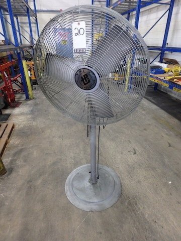 Lot 20 - TPI Industrial Pedestal Fan, 3-Blade, 30 in. (Asset Location: Warehouse), (Site Location: Thorndale,